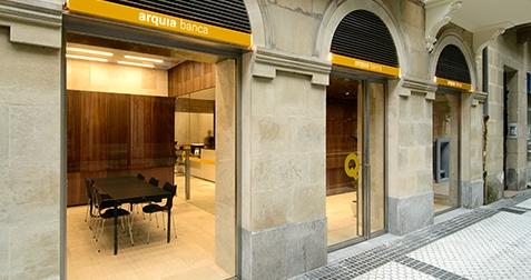 Oficinas arquia banca for Caja laboral valladolid oficinas
