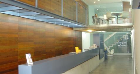 Bulegoak arquia banca for Caja de granada oficinas